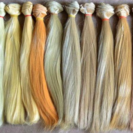 Волосы для кукол трессы