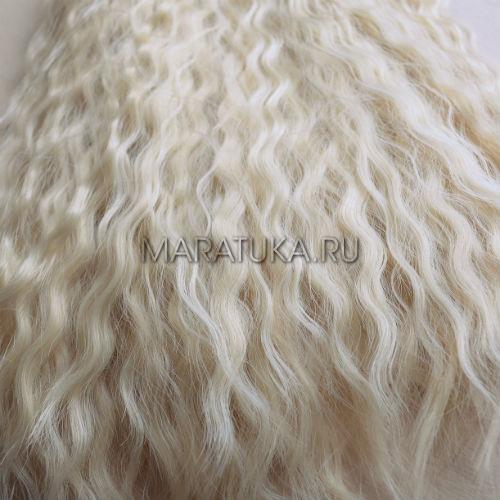 Тресс В43-Т 50 см натур блонд волны