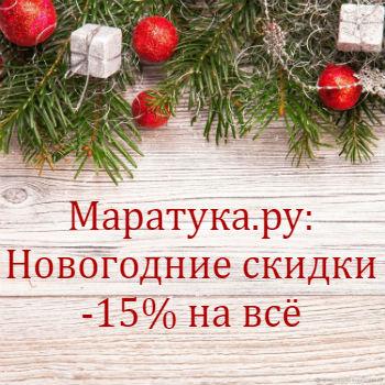 Новогодняя акция: -15% на все товары