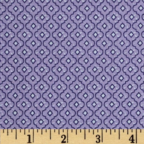 Хлопок Dots and More Trellis Lavender
