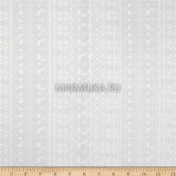 Хлопок Knitted Sweater White on White