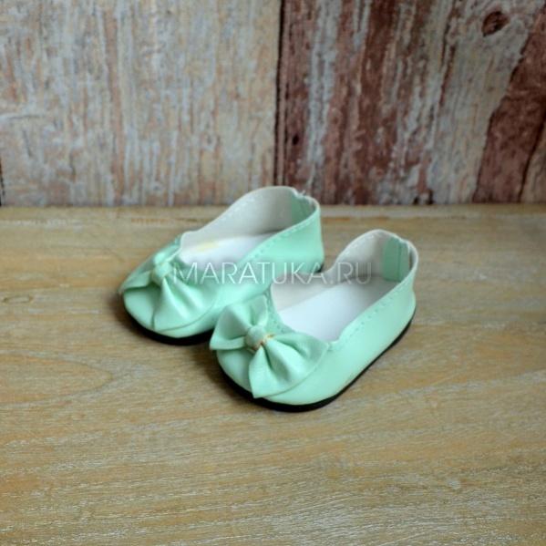 Туфли для кукол Т244-К мятные