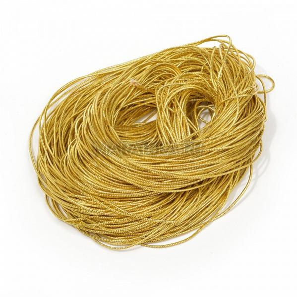 Шнур декоративный SHDM24 1,5 мм золото